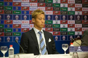 Ngôi sao Keisuke Honda làm sếp lớn ở tuyển Campuchia
