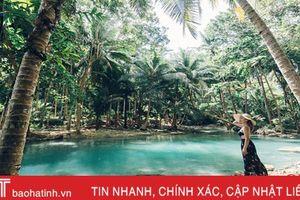 Hotgirl Hà Tĩnh 'lạc lối' giữa những hòn đảo mộng mơ ở Philippines