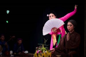 Vở chèo cổ 'Quan Âm Thị Kính' tái xuất sân khấu Thủ đô Hà Nội