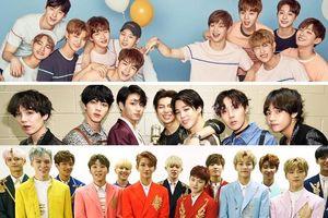 BXH thương hiệu boygroup: BTS giữ 'ngôi vương' 3 tháng liên tiếp, Wanna One theo sát không rời