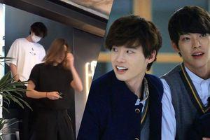 Phản ứng của khán giả Hàn với 'fancam' Kim Woo Bin nuôi tóc dài ngang vai 'hẹn hò' cùng Lee Jong Suk tại quán cà phê