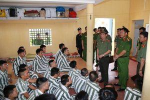 Thứ trưởng Công an: Không để xảy ra đột xuất, bất ngờ trong mọi tình huống ở trại giam Hoàng Tiến