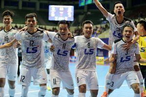 Trực tiếp Thái Sơn Nam vs Mes Sungun chung kết Futsal châu Á