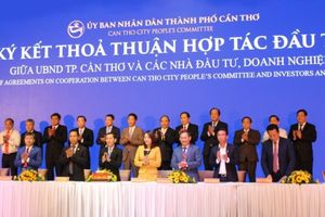 Tập đoàn TMS đồng hành tổ chức Hội nghị Xúc tiến Đầu tư thành phố Cần Thơ năm 2018