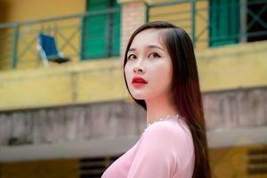 Cô gái có mái tóc dài 1,4 m ở Hoa hậu Việt Nam 2018