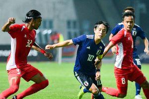 Olympic Nhật Bản bám sát Olympic Việt Nam sau trận thắng tối thiểu