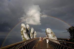 Cầu Vàng Đà Nẵng 'khuấy đảo' truyền thông thế giới