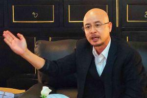 Ông Đặng Lê Nguyên Vũ bất ngờ gặp gỡ báo chí sau 5 năm 'tịnh khẩu'