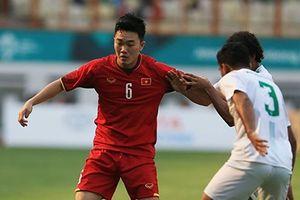 Olympic Việt Nam đã phải trả giá cho chiến thắng đậm trước Pakistan