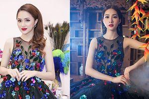 Hé lộ tuyệt chiêu giúp Hương Giang 'cân' cả dàn Hoa hậu, Á hậu Việt khi đụng độ váy áo