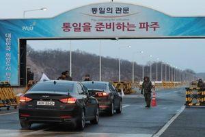 Hai miền Triều Tiên khảo sát đường bộ Kaesong-Bình Nhưỡng