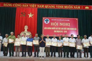 Hội Người cao tuổi huyện Yên Định nêu gương sáng trong sản xuất, kinh doanh