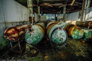 Rợn người cảnh hoang tàn bên trong cơ sở hạt nhân bí mật thời Liên Xô