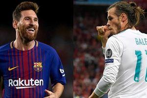 Top 10 ngôi sao cao giá nhất La Liga: Messi đắt gấp đôi Bale