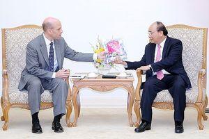 Thủ tướng tiếp lãnh đạo các tập đoàn nước ngoài đầu tư tại Việt Nam