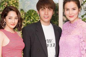 Hoa hậu Phương Lê diện váy 5.000 USD, hội ngộ ca sĩ Bảo Anh tại Hà Nội