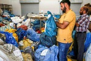 Israel trao trả cho Palestine 10 tấn bưu phẩm sau 8 năm bị giữ