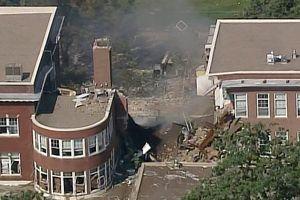 Nổ khí ga gây sập nhà tại Mỹ, 9 người bị thương