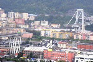 Cầu đường cao tốc gãy sập ở Italia: Số người chết tăng lên 35