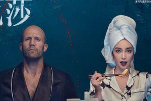 'Cá mập siêu bạo chúa' đưa Lý Băng Băng, Jason lên bìa tạp chí Bazzar