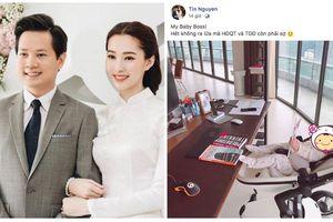 Không ngờ 'boss lớn' khiến chồng đại gia của Hoa hậu Thu Thảo sợ xanh mặt chỉ mới 5 tháng tuổi