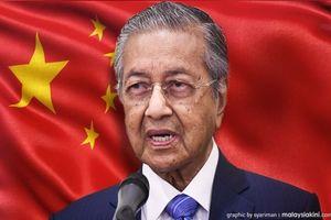 Malaysia 'dọa' hủy loạt dự án tỷ USD, Trung Quốc nói 'cần thương lượng'