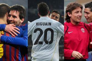 12 cầu thủ vinh dự được chơi bóng cùng Ronaldo và Messi