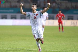 Bảng xếp hạng bóng đá nam ASIAD 2018: Olympic Việt Nam đầu bảng D