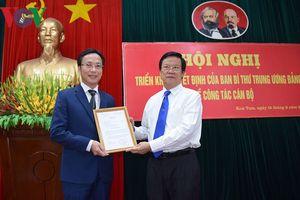 Ông Lại Xuân Lâm làm Phó Bí thư Đảng ủy Khối các cơ quan Trung ương