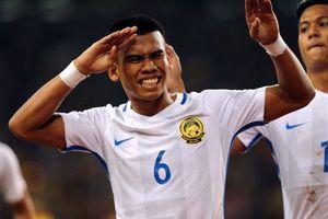 Cầu thủ Malaysia ghi bàn trước Hàn Quốc từng cạnh tranh với Quang Hải