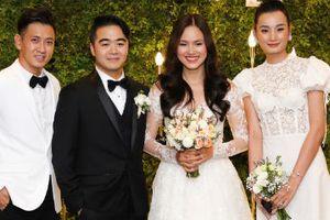 Làng mẫu Việt dự lễ cưới của Tuyết Lan ở Sài Gòn