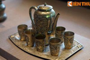 Lóa mắt trước bộ sưu tập cổ vật bằng bạc của vua nhà Nguyễn
