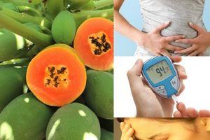 Một số chất trong quả đu đủ có thể gây 'phản ứng phụ' nếu ăn quá nhiều