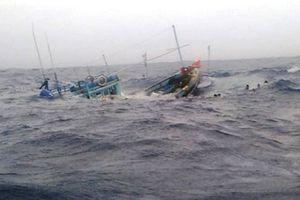 Tàu cá cùng 5 ngư dân Bình Thuận mất liên lạc ở Trường Sa