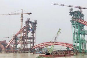 Hải Phòng cấm luồng hàng hải 48 giờ phục vụ thi công cầu Hoàng Văn Thụ