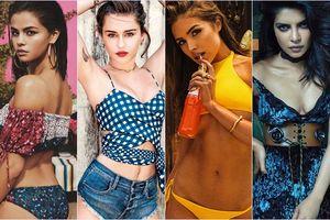 Miley Cyrus, Selena Gomez lần lượt là những mỹ nhân nằm trong list 'tình sử' của chàng trai 'đào hoa' Nick Jonas