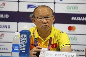 HLV Park Hang Seo: 'Olympic Việt Nam đã chứng tỏ khát khao chiến thắng Nhật Bản'