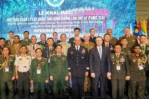 PAMS-42: Quân đội Việt Nam sẵn sàng làm hết sức mình cứu trợ thảm họa quốc tế
