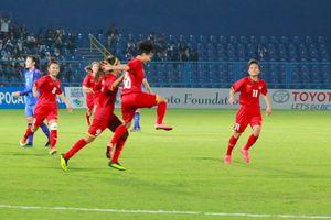 Thắng Thái Lan, bóng đá nữ Việt Nam vào tứ kết