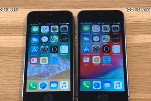 iOS 12 mượt hơn trên iPhone cũ
