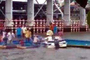 Lật đò chở 10 người ở Cà Mau, 1 thanh niên tử vong