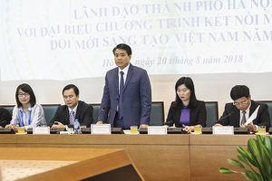 Ông Nguyễn Đức Chung đề nghị các nhà khoa học hiến kế cho Thủ đô