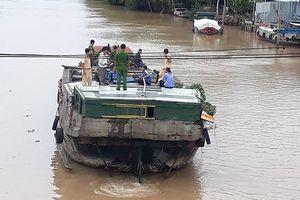 Chưa tìm được người phụ nữ mất tích trên sông ở Bến Tre