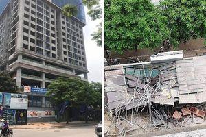 Đứt cáp cẩu trục công trình ở Hà Nội: Sẽ đình chỉ và kiểm tra toàn bộ dự án