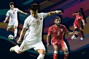 So sánh Olympic VN - Olympic Bahrain: Quang Hải, Tiến Dũng nổi bật