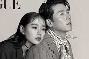 Son Ye Jin và Hyun Bin khoe nhan sắc tượng tạc, thân mật trên tạp chí