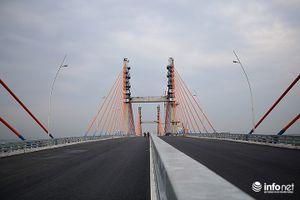 Cầu Bạch Đằng nối Quảng Ninh với Hải Phòng sẽ thông xe vào Quốc khánh 2/9