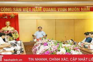 Phát triển công nghiệp vẫn là lợi thế cạnh tranh của Hà Tĩnh