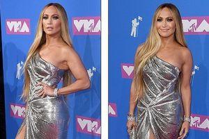 Ngất ngây trước vẻ quyến rũ của Jennifer Lopez trên thảm đỏ MTV Awards