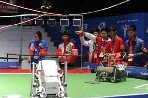 Học sinh Việt giành thành tích cao tại cuộc thi Robotics toàn cầu